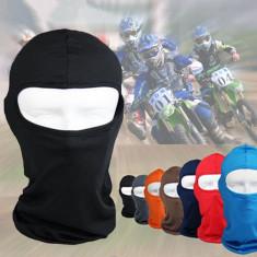 Cagula supraelastic neagra masca lycra protectie ski scuter airsoft tip ninja