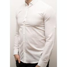 Camasa alba slim fit camasa vara camasa barbat cod 120