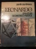Zamfir Dumitrescu - Leonardo - Structuri geometrico-plastice (1988)