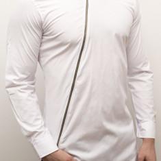 Camasa - camasa slim fit camasa cu fermoar camasa barbat cod 135