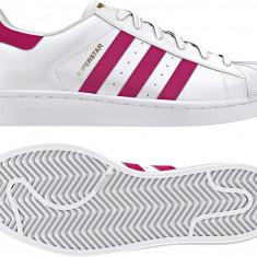 Pantofi sport copii ADIDAS SUPERSTAR FOUNDATIO - marime 37 1/3 - Adidasi copii