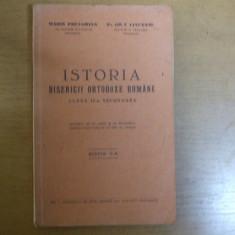 Istoria bisericii ortodoxe romane Bucuresti 1930 Pretorian Ciausanu
