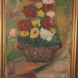 Tablou real Moscu, Flori, Ulei, Altul