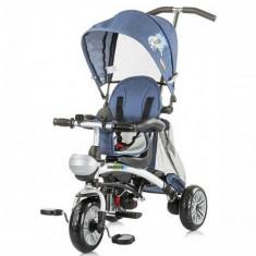 Tricicleta Maverick Jeans Blue Stamp - Tricicleta copii Chipolino