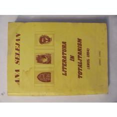 """GE - Ana SELEJAN """"Literatura in Totalitarism / Anul 1954"""""""
