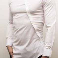 Camasa asimetrica - camasa lunga camasa fashion camasa barbat - cod 26