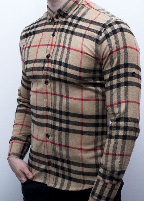 Camasa barbat - camasa slim fit camasa fashion LICHIDARE STOC cod 157