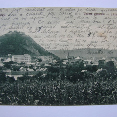 Carte postala circulata - Deva, vedere generala 1927 - Carte Postala Transilvania dupa 1918, Printata