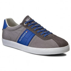 Sneakers Tommy Hilfiger Playoff 1C Grey-44 - Tenisi barbati Tommy Hilfiger, Culoare: Bleumarin