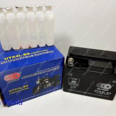 Baterie - Acumulator Moto Scuter 12V ( volti ) 3A ( amperi ) - ACID - 113x70x85 - Baterie Moto