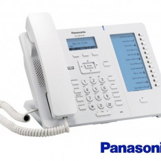 Telefon SIP Panasonic Alb/Negru - Telefon fix