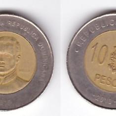 Republica Dominicana 2010 - 10 pesos