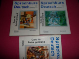Sprachkurs deutsch 3 volume  (curs de limba germana)(foarte buna)