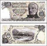 Argentina 1976-78 - 50 pesos UNC