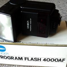 Vand flash Minolta 4000AF, Dedicat
