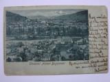 Carte postala circulata BOCSA sau NEMET-BOGSAN anul 1898, Printata