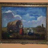 Tablou de Colectie Scoala Baimareana  Semnat Ivanyi Grunwald Bela, Peisaje, Ulei, Impresionism