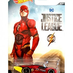 Jucarie Hot Wheels Justice Leauge Rd-09 The Flash (4/7) Hasbro