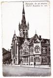 Cluj biserica reformata de pe actuala str. Horea, Kolozsvar reformatus templom, Cluj Napoca, Necirculata, Printata