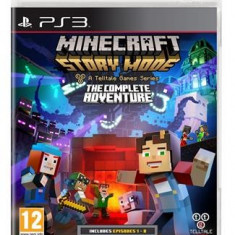 Minecraft Story Mode The Complete Adventure Ps3 - Jocuri PS3
