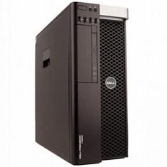 Workstation Refurbished Dell Precision T3610 Tower, Intel Xeon Quad Core E5-1620 V2 3700Mhz, Intel® Turbo Boost Technology, 16GB Ram DDR3, SSD 256GB - Sisteme desktop fara monitor
