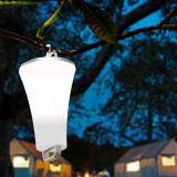 Toby - lampa de mana led alba 23 cm