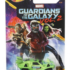 Masinuta Hot Wheels Car Marvel Guardians Of The Galaxy Vol.2 Quicksand Mattel