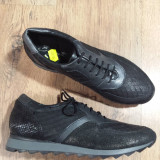 Pantofi dama Benvenuti noi piele foarte comozi 39