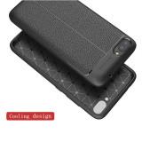 Husa Zenfone Live ZB501KL silicon design piele business calitativa model 2018, Alt model telefon Huawei, Roz