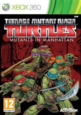 Teenage Mutant Ninja Turtles Mutants In Manhattan Xbox360