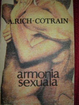 ARMONIA SEXUALA -A. RICH COTRAIN foto