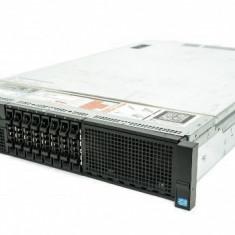 Server DELL PowerEdge R820, Rackabil 2U, 2 Procesoare Intel Eight Core Xeon E5-4650L 2.26 GHz, 32 GB DDR3 ECC Reg, 8 bay-uri 2.5 inch, DVD-ROM, Fron