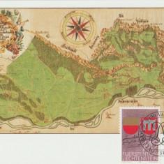 Liechtenstein 1987 -Harta, maxima