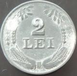Moneda 2 Lei - ROMANIA, anul 1941 *cod 2004 --- Zinc!
