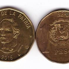 Republica Dominicana 2015 - 1 peso