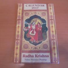CALENDAR DE PERETE INDIA 2017- RADHA KRISHNA- INDIAN MINIATURE PAINTINGS- - Calendar colectie