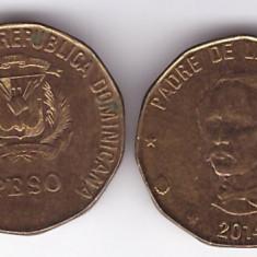 Republica Dominicana 2014 - 1 peso