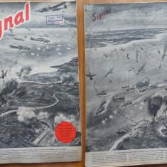 Revista de razboi germana Signal , in limba franceza , 10 Septembrie , 1940