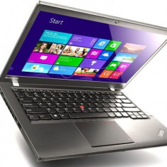 Laptop Lenovo ThinkPad T440, Intel Core i5 Gen 4 4300U 1.9 GHz, 4 GB DDR3, 320 GB HDD SATA, WI-FI, Bluetooth, Webcam, 2 x Baterie, Tastatura Ilumina