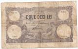 ROMANIA 20 LEI IUNIE 1926 U