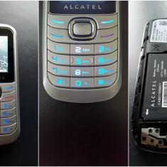 Alcatel OT-322 Senior - Telefon Alcatel, Argintiu, Nu se aplica, Orange, Fara procesor