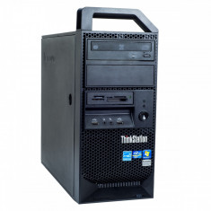 Lenovo ThinkStation E31 Intel Xeon E3-1220 v2 3.10 GHz 8 GB DDR 3 ECC 500 GB HDD DVD-RW 1 GB GeForce 605 Tower Windows 10 Pro MAR - Sisteme desktop fara monitor