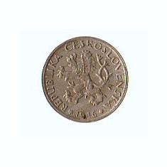 Cehoslovacia 1946 - 1 korun - bancnota europa