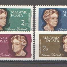 Ungaria 1964 - Eleanor Roosevelt, serie neuzata