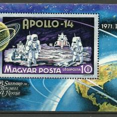 Ungaria 1971 - Apollo 14, colita neuzata