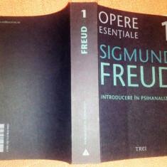 Introducere in psihanaliza - Opere Esentiale, vol. 1. - Sigmund Freud - Carte Psihologie, Trei