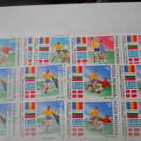 1990  Preliminariile CM de fotbal Italia  LP 1234  X4, Nestampilat