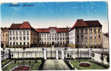 Cluj colegiul de fete Marianum,Kolozsvar ilustrata circulata 1918, Cluj Napoca, Printata