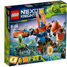 Confruntarea cu vrajitorul robot 72004 Nexo Knights LEGO