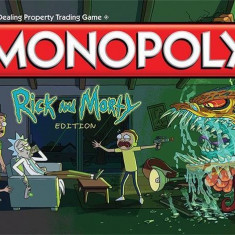 Joc Monopoly Rick And Morty Edition